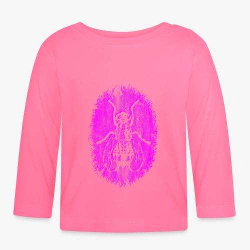 Fluga Purple - Långärmad T-shirt baby