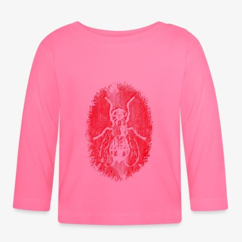 Fluga Red - Långärmad T-shirt baby