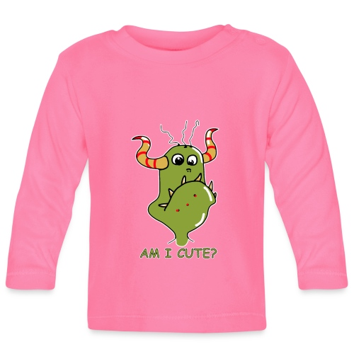 Cute monster - Baby Long Sleeve T-Shirt