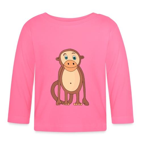 Bobo le singe - T-shirt manches longues Bébé