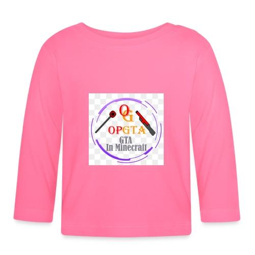opgta logo - Vauvan pitkähihainen paita