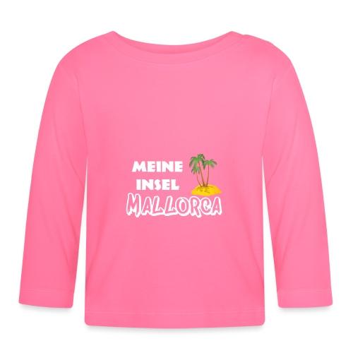 Mallorca meine Insel - aktuelles Design - Baby Langarmshirt