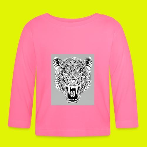 mandala tigre - Maglietta a manica lunga per bambini