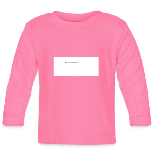eat sleep sing - Baby Long Sleeve T-Shirt