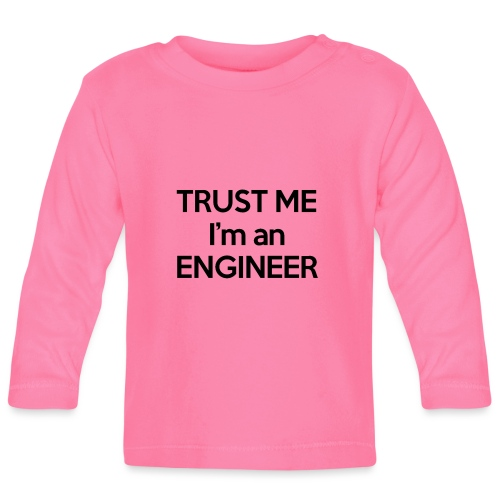 Engineer - Black Edition - Maglietta a manica lunga per bambini
