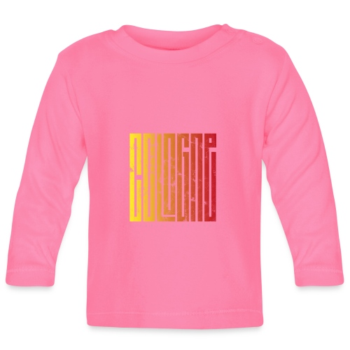 Cologne Köln Summerstyle Design für Kölner 1 - Baby Langarmshirt