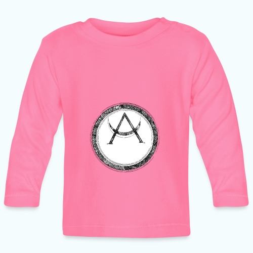 Mystic motif with sun and circle geometric - Baby Long Sleeve T-Shirt