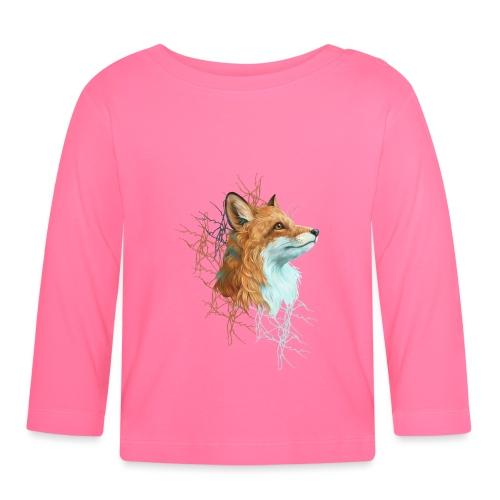 Happy the Fox - Baby Langarmshirt