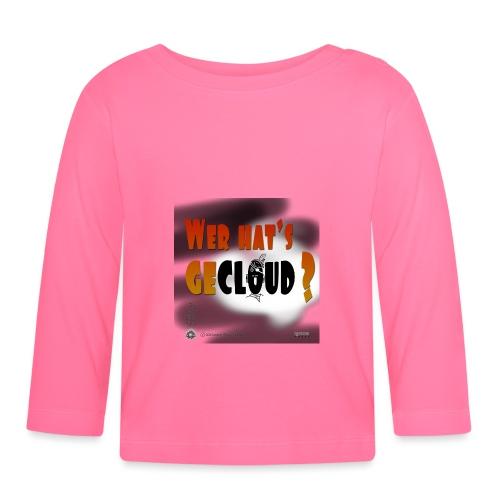 Kreativ Studio Nuding Design Wer hats gecloud? - Baby Langarmshirt