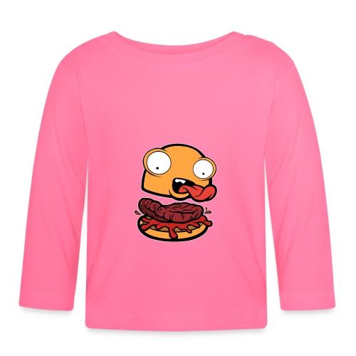 Crazy Burger - Camiseta manga larga bebé