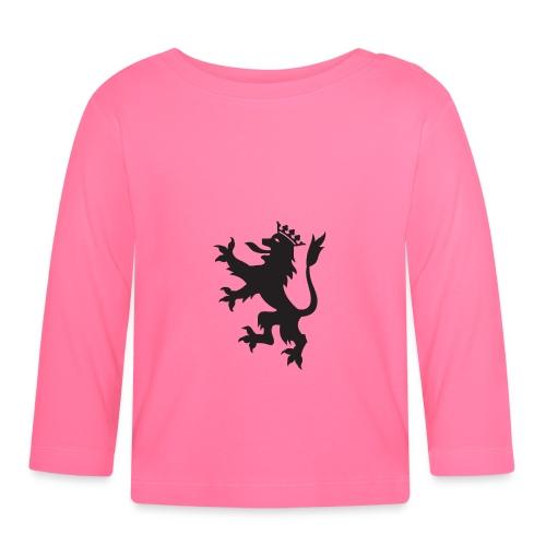 Escudo León - Camiseta manga larga bebé