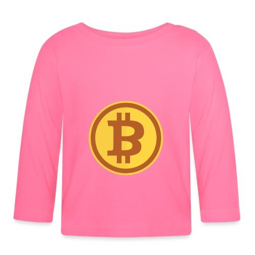 Bitcoin - Baby Langarmshirt