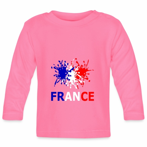 France - red white blue - Baby Long Sleeve T-Shirt