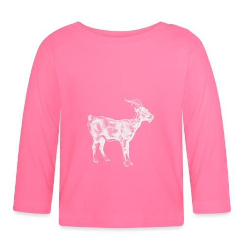 White Goat - Baby Langarmshirt