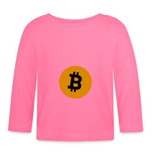 Bitcoin Shirt - Baby Langarmshirt