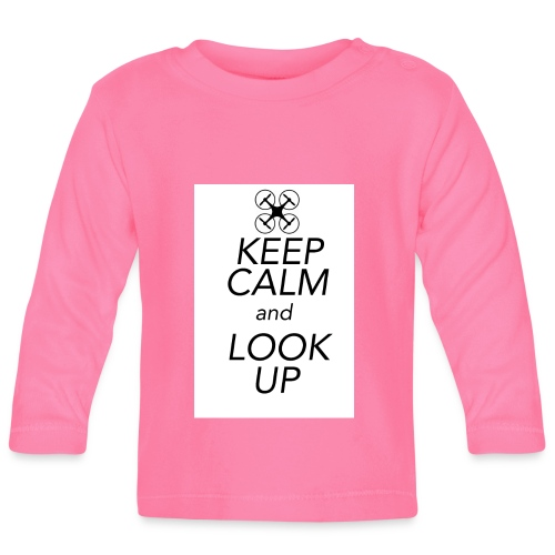 Keep Calm and Look Up - T-shirt