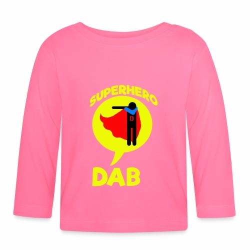 Dab supereroe/ Dab Superhero - Maglietta a manica lunga per bambini