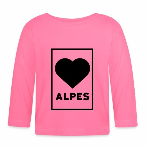 love alpes - T-shirt manches longues Bébé