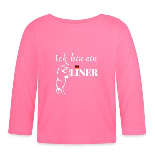Ick bin ein Berliner - Baby Langarmshirt