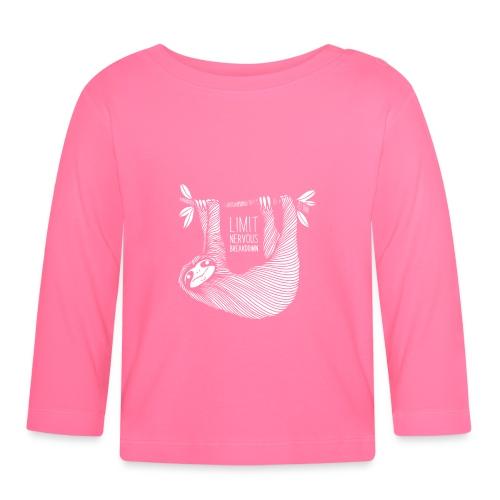 Le paresseux, animal, limit nervous breakdown - T-shirt manches longues Bébé