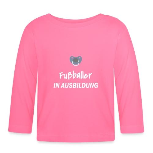 Fußballer in Ausbildung - Baby Langarmshirt