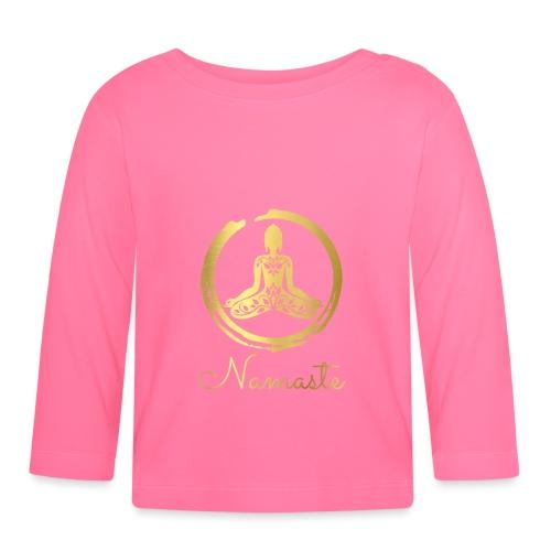 Yoga Buddha - Baby Long Sleeve T-Shirt