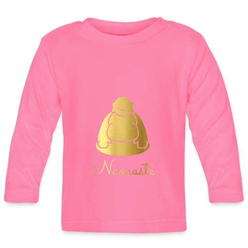 Namaste - Baby Long Sleeve T-Shirt