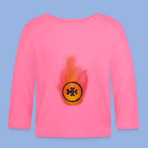 Smell like teen spirit Fire - T-shirt manches longues Bébé