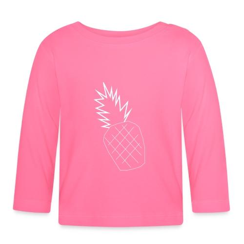 pinapple png - Baby Long Sleeve T-Shirt