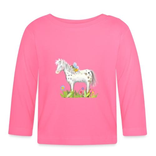 Fee. Das Pferd und die kleine Reiterin. - Baby Langarmshirt