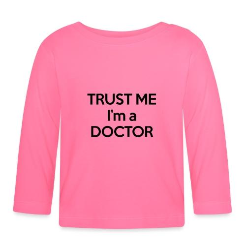 Doctor - Black Edition - Maglietta a manica lunga per bambini