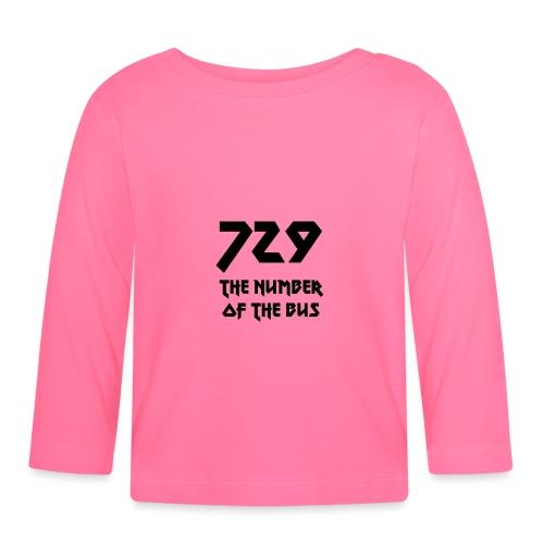 729 grande nero - Maglietta a manica lunga per bambini