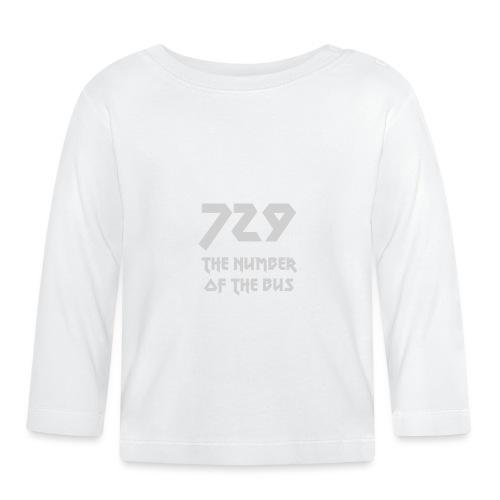729 grande grigio - Maglietta a manica lunga per bambini