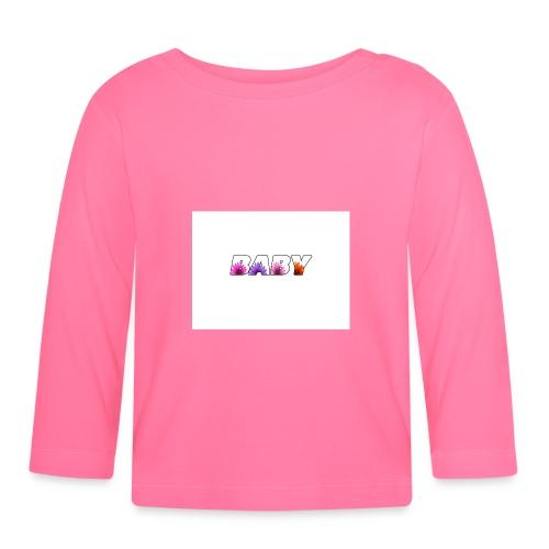 logo baby fille - T-shirt manches longues Bébé