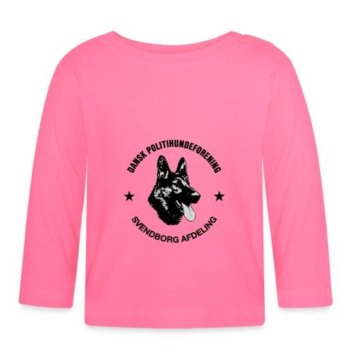 Svendborg ph sort - Langærmet babyshirt