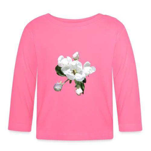 Omenankukka ja kukkakärpänen - Vauvan pitkähihainen paita