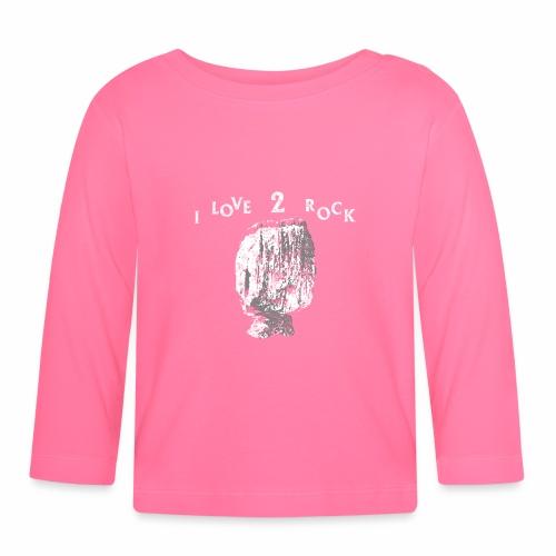 I Love 2 Rock – Come Roccia in Equilibrio - Maglietta a manica lunga per bambini