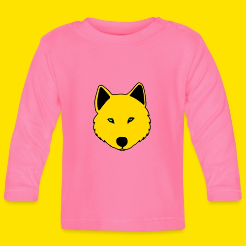Jasja The Wolf - Baby Long Sleeve T-Shirt