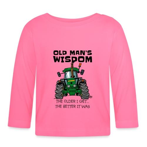 0169 oldmanswisdom JD4050 - T-shirt