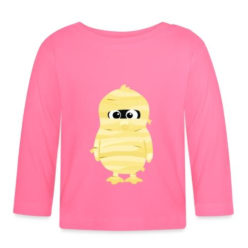 Pingouin Momie - T-shirt manches longues Bébé