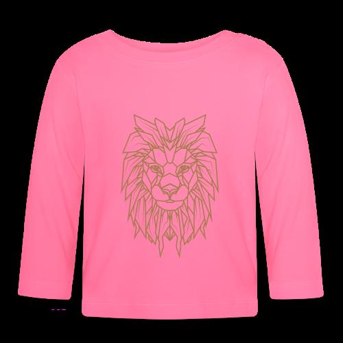 Löwe | Tier Katze Raubkatze Wildtier - Baby Langarmshirt