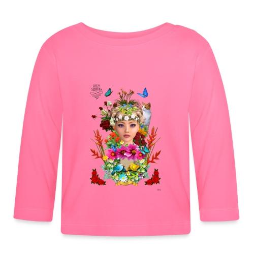 Lady spring -by- t-shirt chic et choc - T-shirt manches longues Bébé
