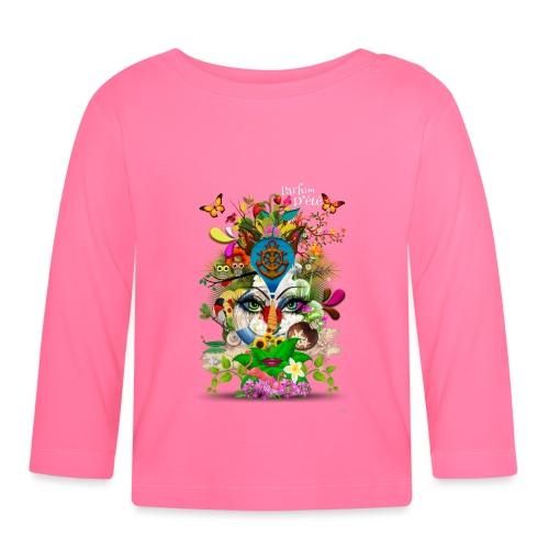 Parfum d'été by T-shirt chic et choc (tissu foncé) - T-shirt manches longues Bébé