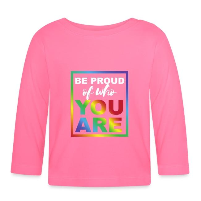 Sei stolz darauf Wer du bist | Statement Shirt