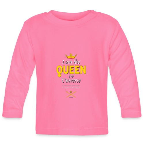 Royal Queen T-shirt - PAN Design - Drottning - Långärmad T-shirt baby