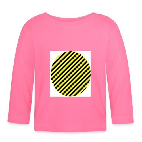 varninggulsvart - Långärmad T-shirt baby