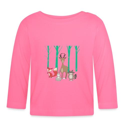Las body dziecko - Koszulka niemowlęca z długim rękawem