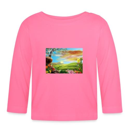 bob ross - Baby Langarmshirt
