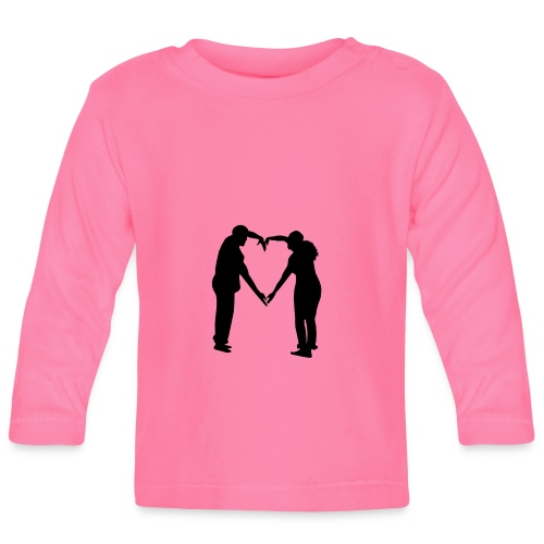 silhouette 3612778 1280 - Långärmad T-shirt baby
