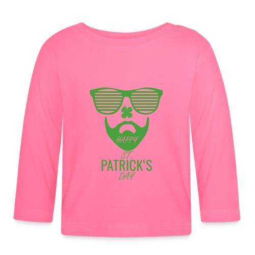 Happy St. Patrick's Beard Day - Baby Langarmshirt